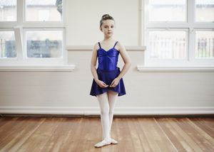 Child dancer