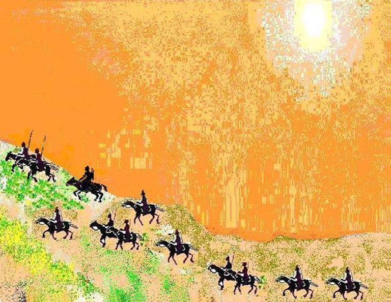 Artistic Impression of Ghallughara