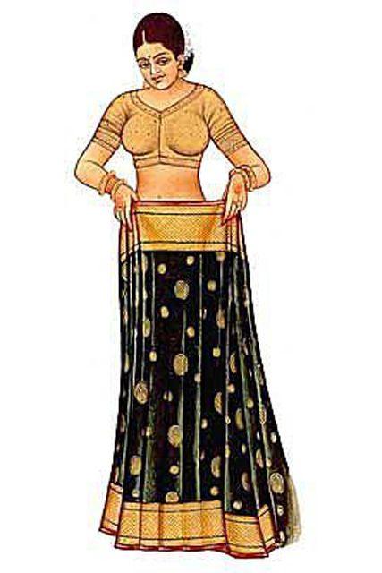 Sari: Fitting the Petticoat