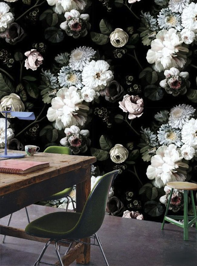 5 Ways To Bring The Moody Floral Trend Home