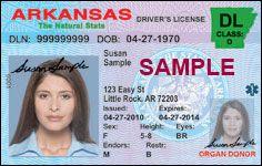 Arkansas Driver License