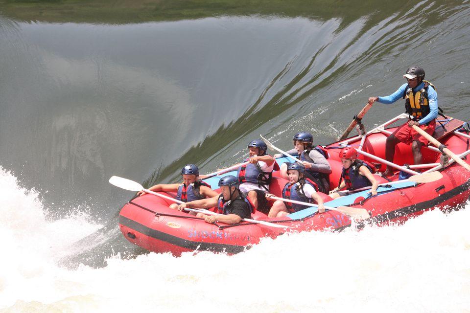 White-water rafting, Zambezi River, Victoria Falls