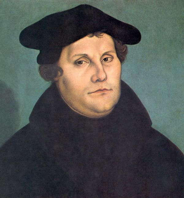 Martin Luther by Cranach