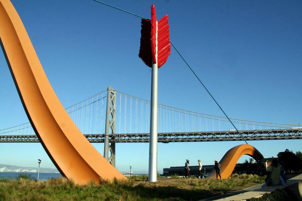 Cupid Span and Bay Bridge