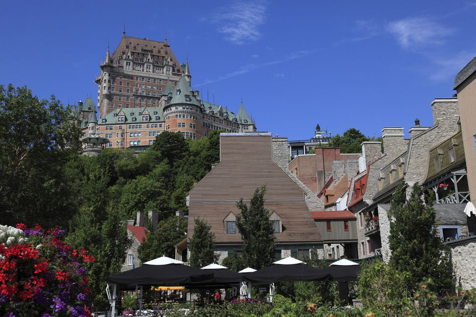 Chateau Frontenac from Lower Town