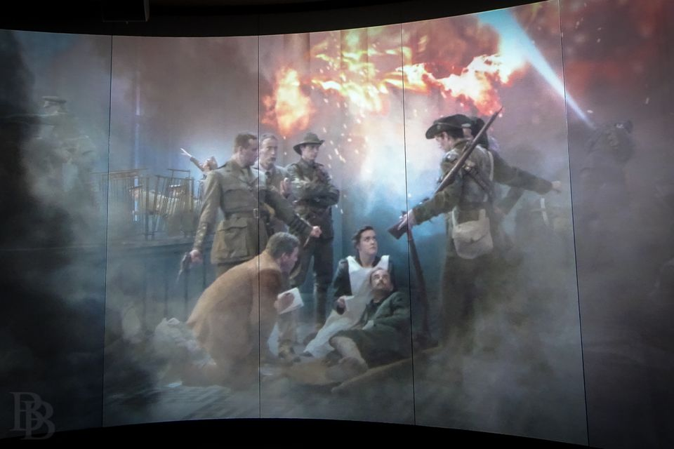 Saving Commandant Connolly - a key scene in the movie shown at GPO Witness History