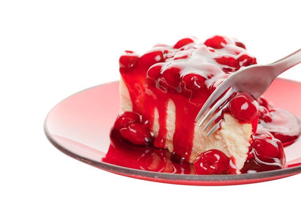 Cherry Cheesecake Pie