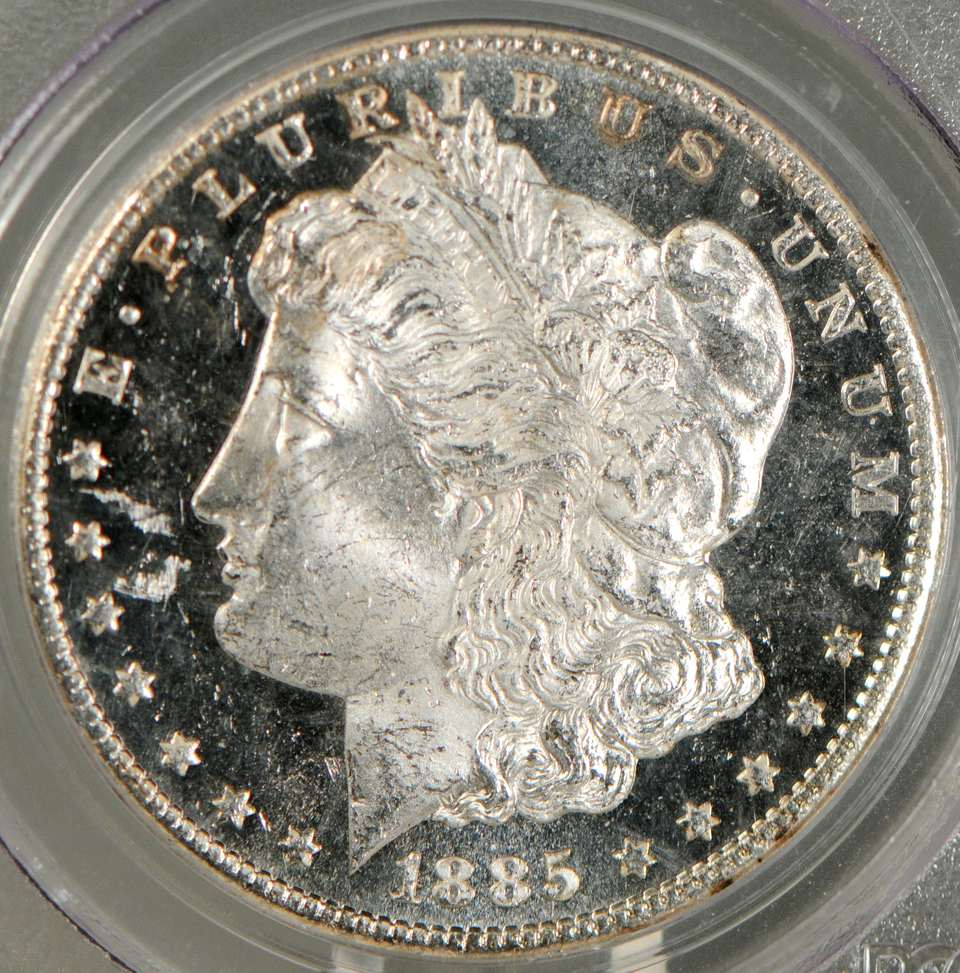 Deep Mirror Proof-Like (DMPL) Morgan Dollar