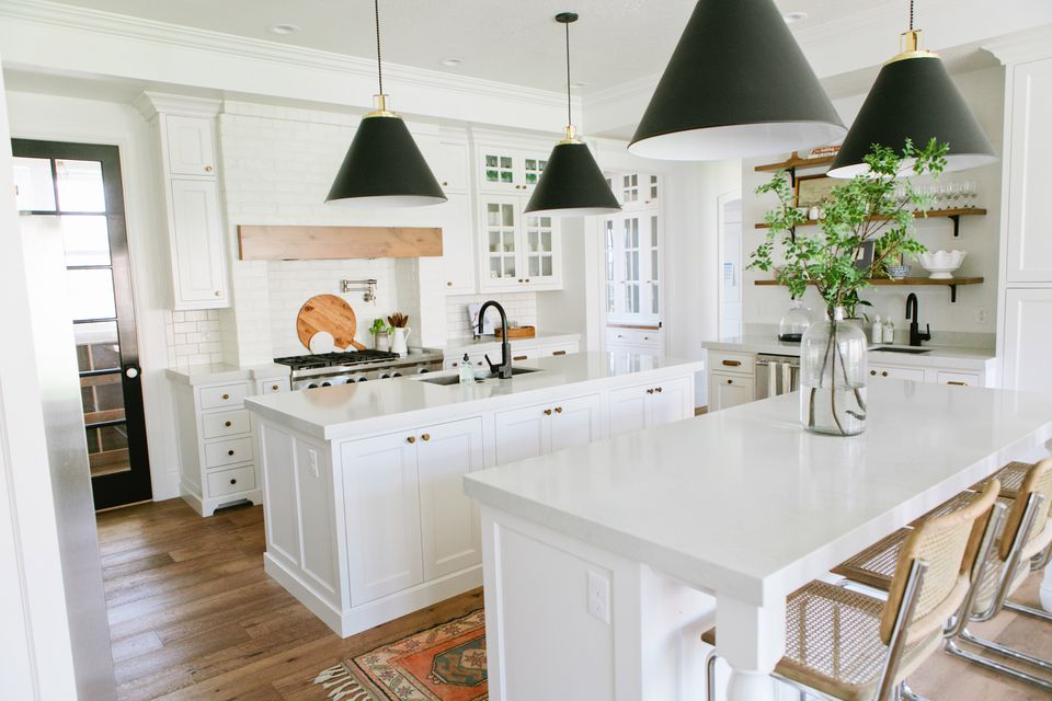 Gorgeous modern farmhouse kitchens for White farm kitchen