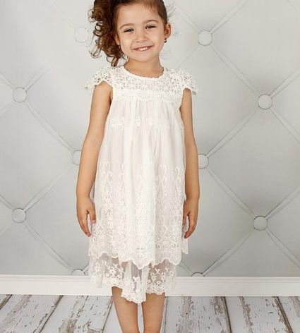 Flower Girl Outfits For Every Wedding Style