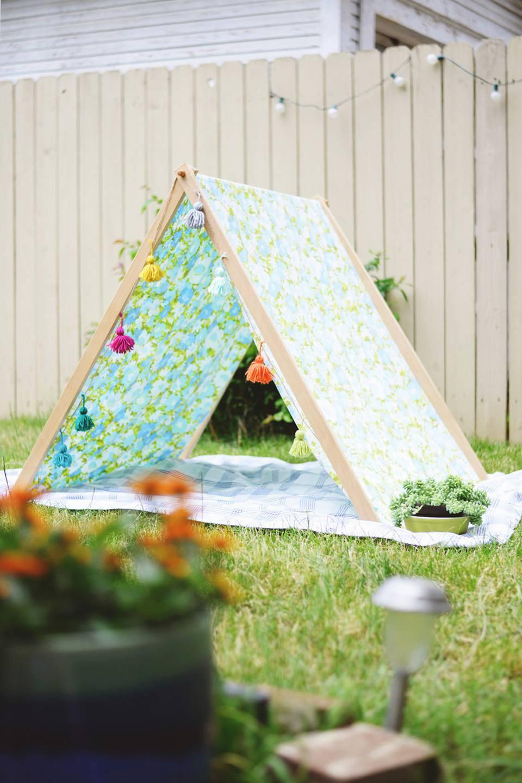 DIY Fold Up Tent