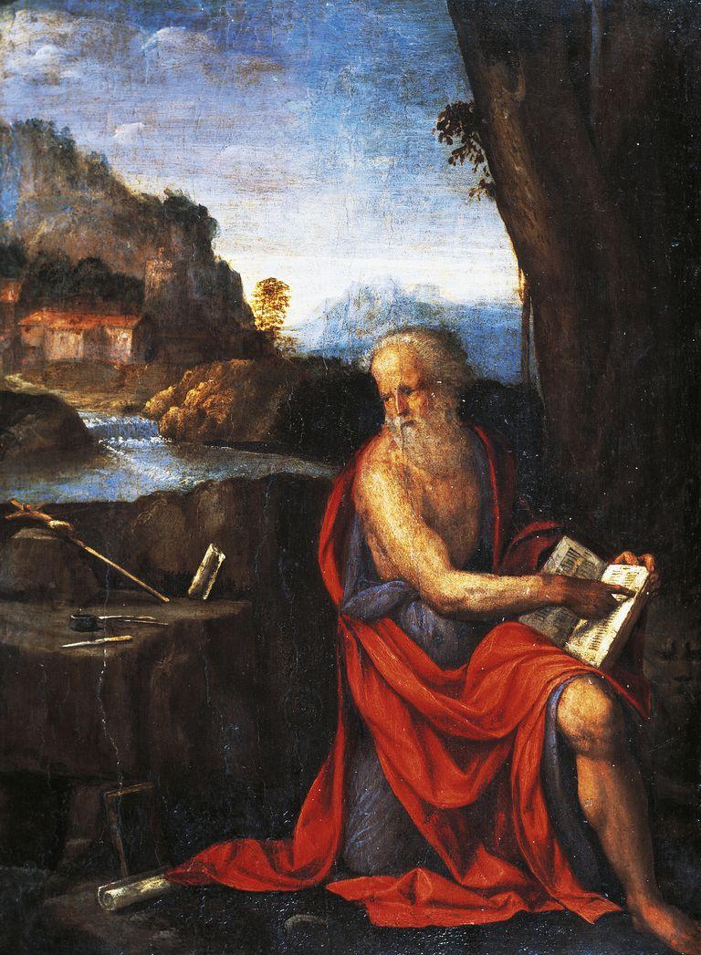 St Jerome, by Garofalo (1481-1559).