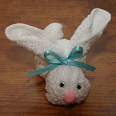 How to Make a Wash Rag Bunny