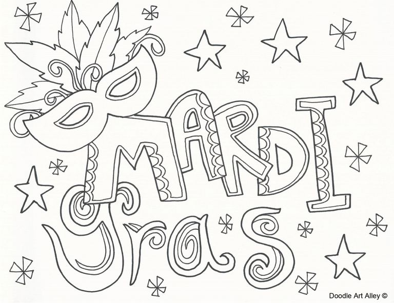 49 free printable gras coloring pages a mardi gras coloring page pronofoot35fo Choice Image