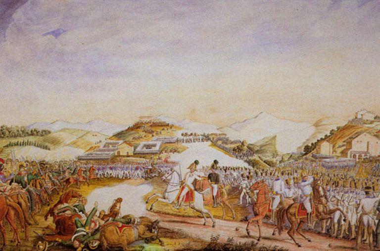 Fighting at Tolentino