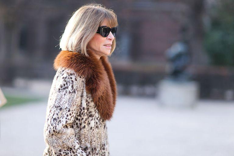 Anna Wintour, Editor in Chief of Vogue magazine