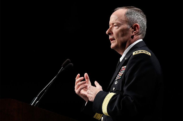Army Gen. Keith Alexander, commander of U.S. Cyber Command, director of the National Security Agency