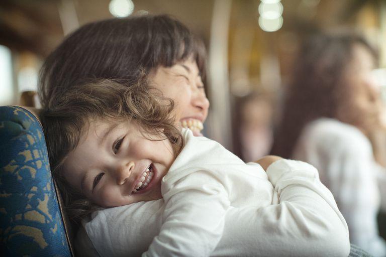 Train ride hug