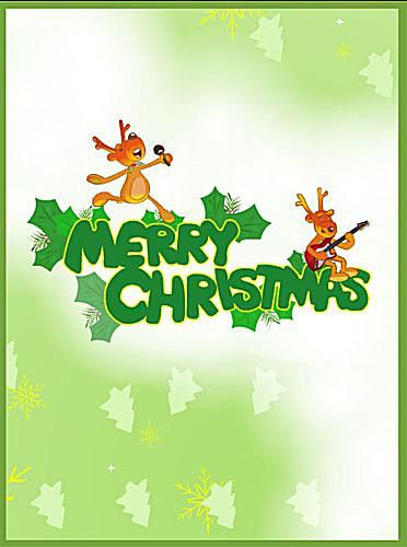 Free, Printable Christmas Cards to Send to Everyone