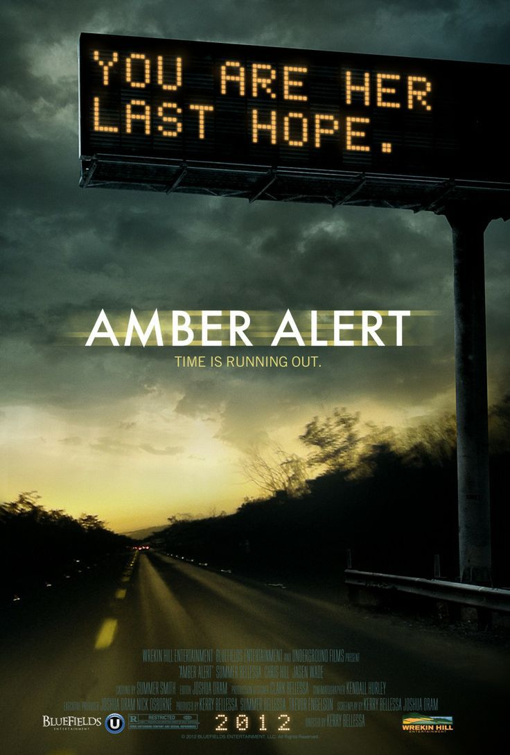 Amber Alert movie poster