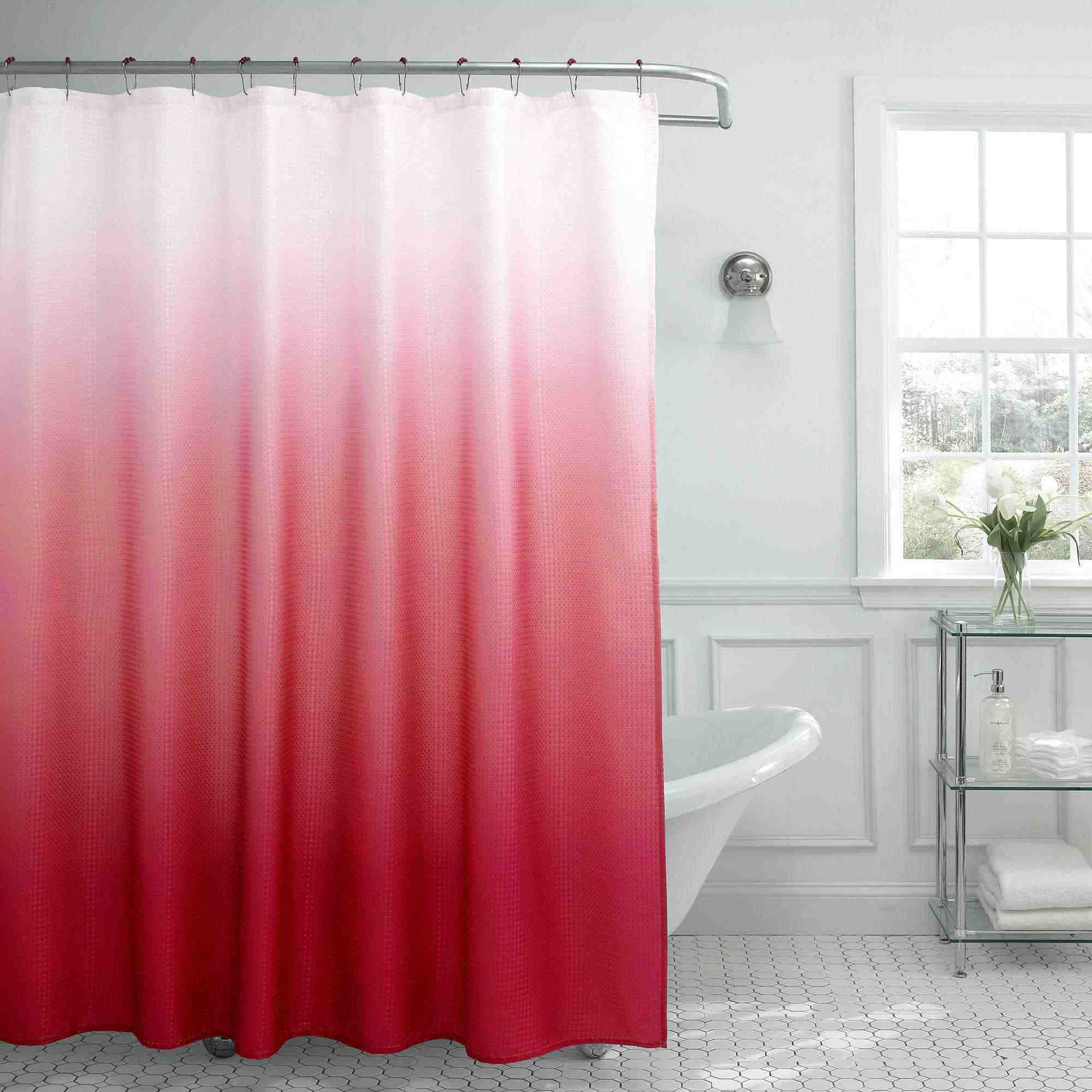 shower curtain coral products navy decor lushdecor com stripe curtains lush bellagio nesco