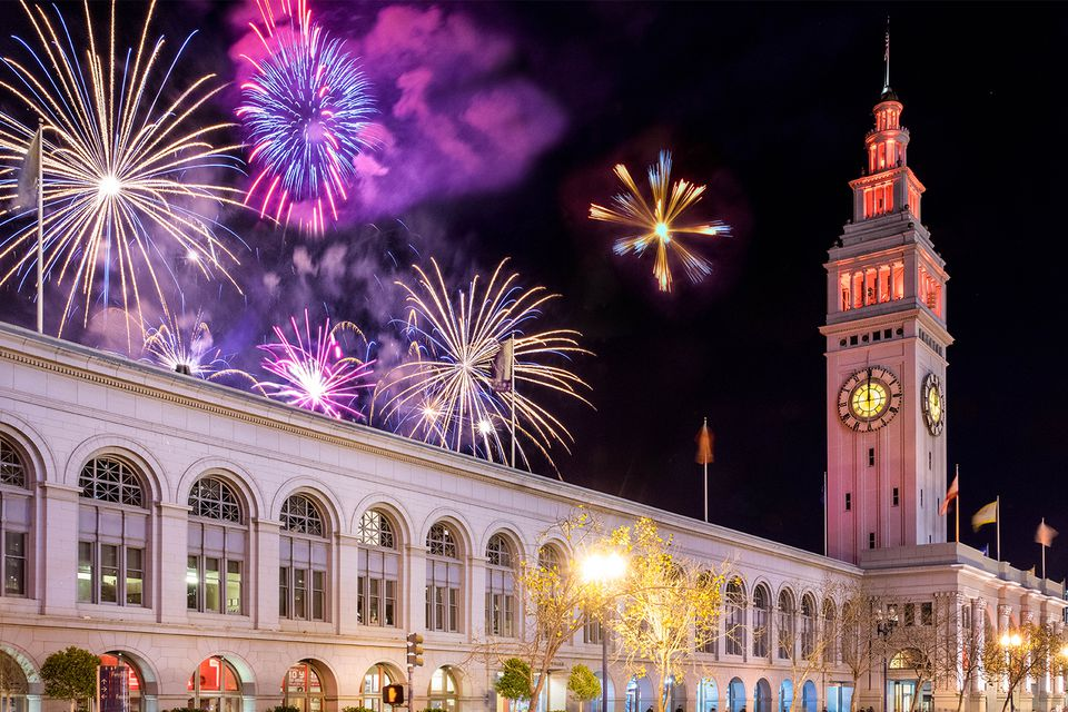 New Year's Eve in San Francisco, December's Last Event