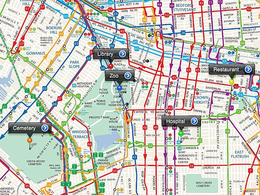 PDF Maps Brooklyn
