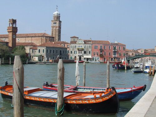 Canal in Murano, Italy