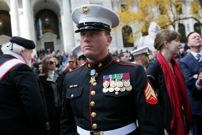 USA - Veterans Day Parade in New York