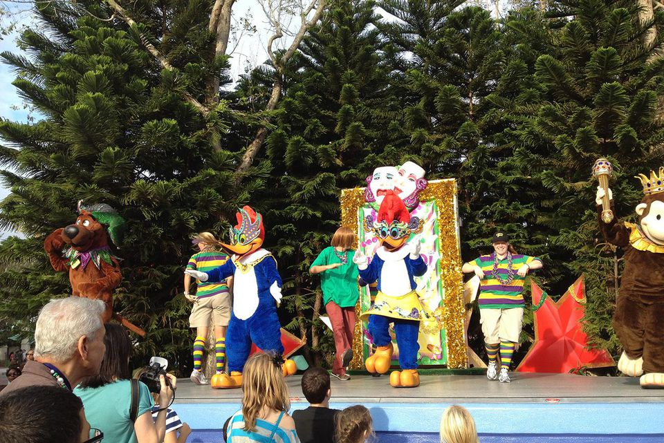 Mardi Gras at Universal Orlando Resort - Universal Studios Florida