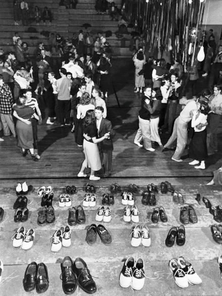 A '50s sockhop like the one in the song