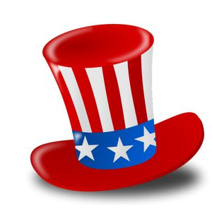 Picture of an Uncle Sam top hat