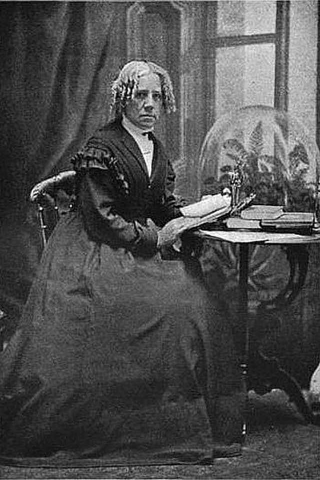 An image of Maria Mitchell, American astronomer.