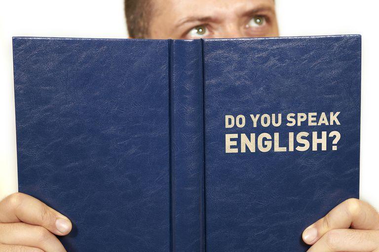 Libro con la frase: do you speak English?