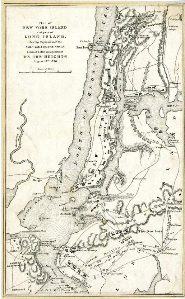 Map of old Brooklyn