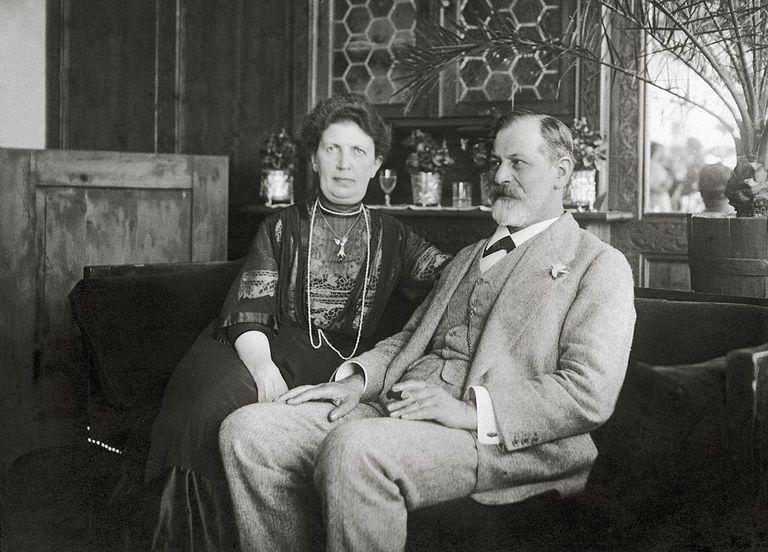 Sigmund Freud and Martha Freud