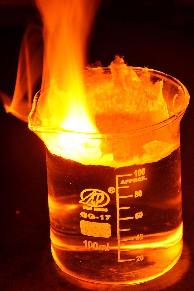 Sodium burn