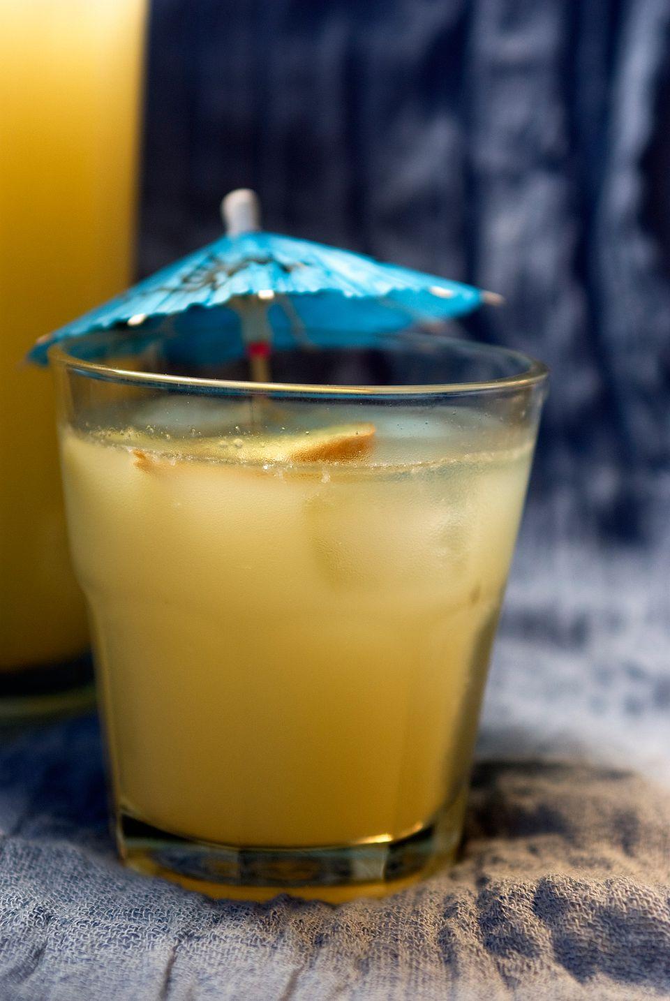 Refreshing Ginger Lemonade