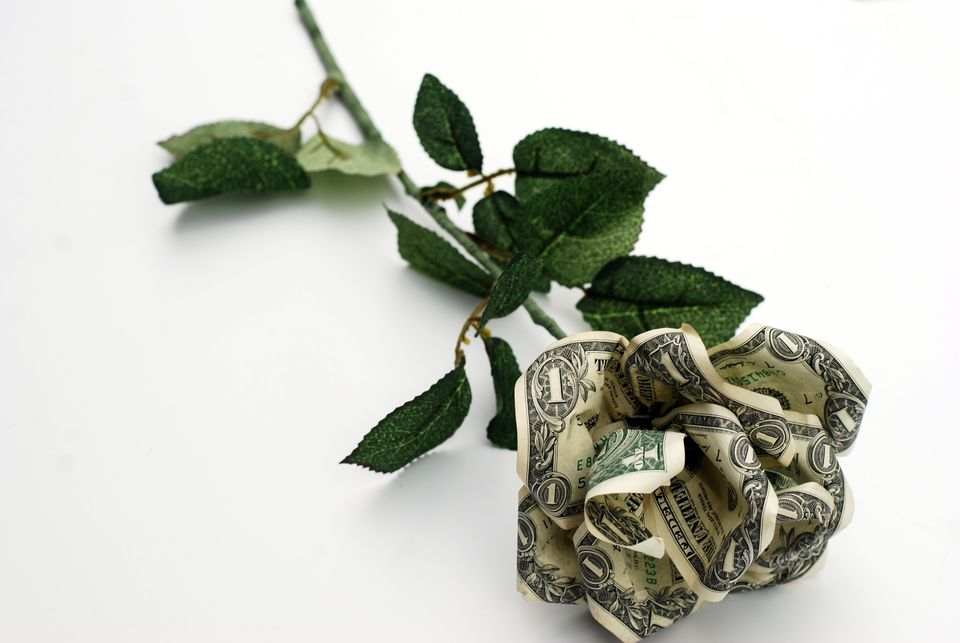 rose from money