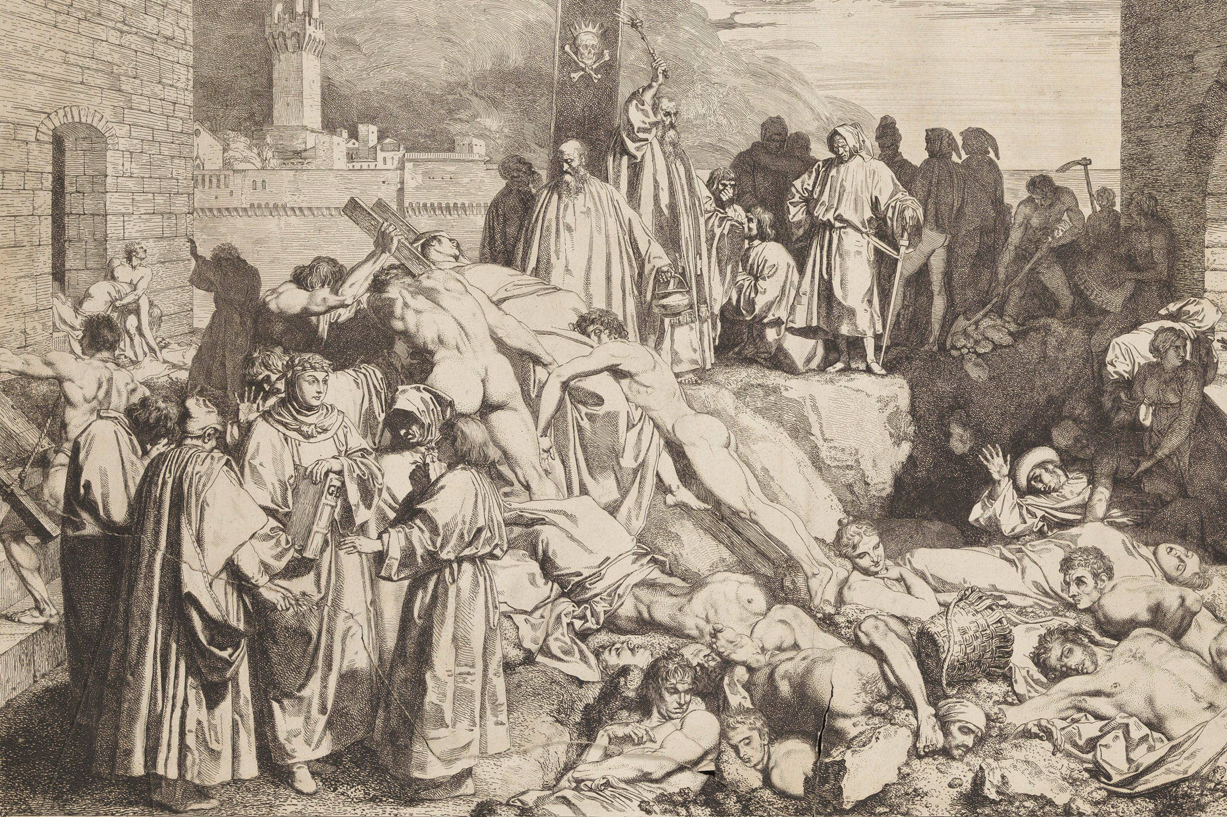 an analysis of the mid fourteenth century black death plague in europe