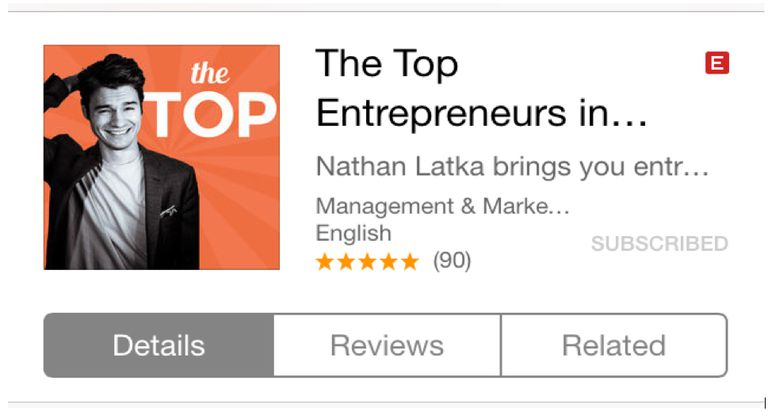 The Top Podcast with Nathan Latka