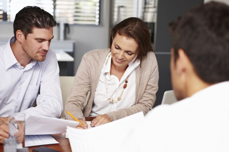 Prime borrowers signing a loan contract