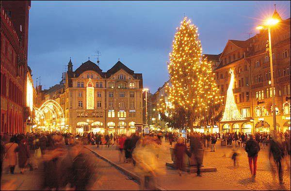 basel chrismas market, switzerland christmas markets