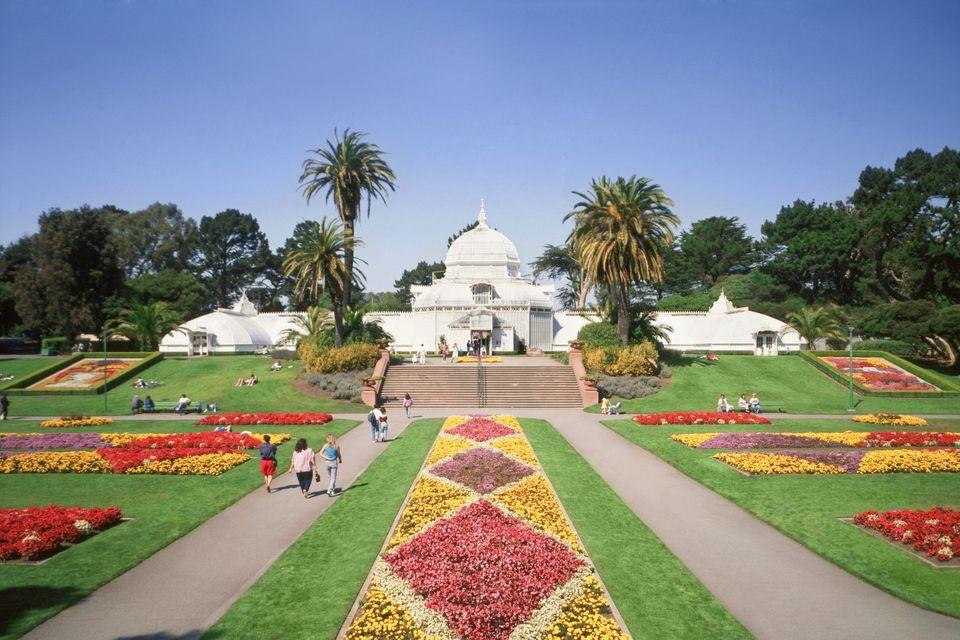 USA, California, San Francisco, Golden Gate Park, Conservatory of Flowers