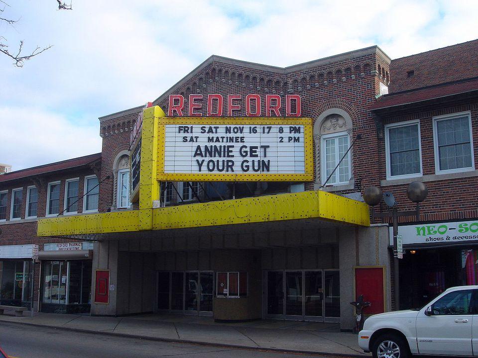 The Redford Theatre in Detroit.