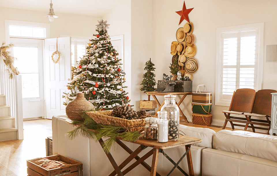 Christmas Decor Images 15 beautiful ways to decorate the living room for christmas
