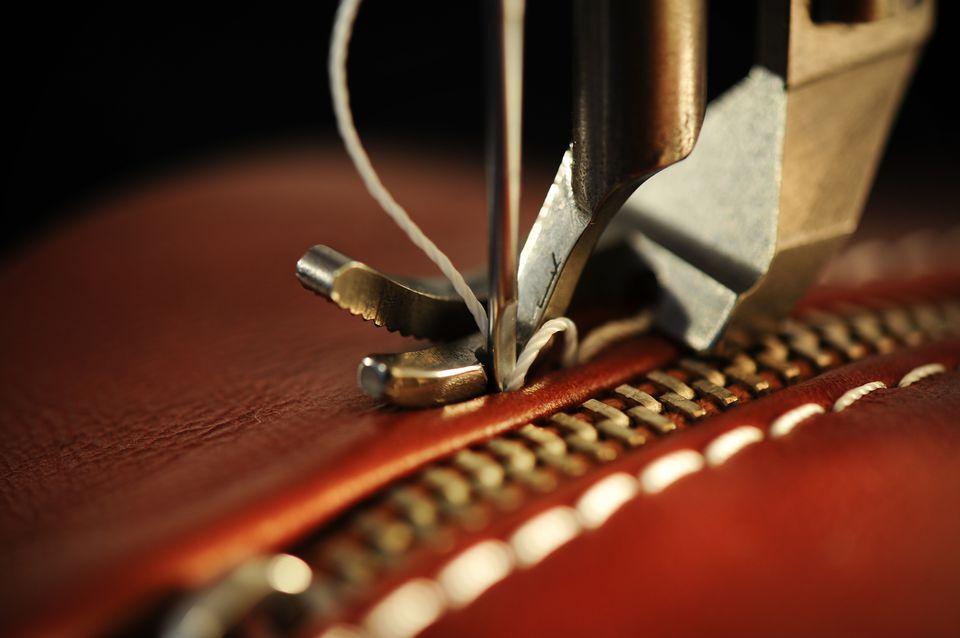 Sewing zipper