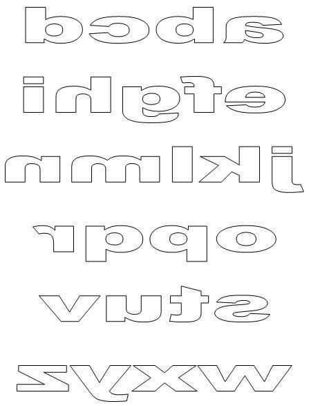 Free Printable Block Letters