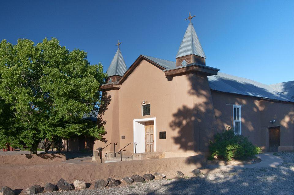 Old San Ysidro Church in Corrales.
