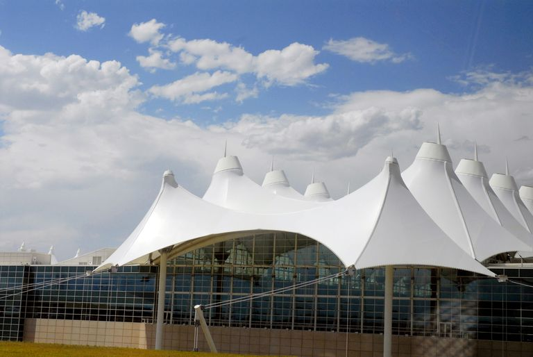 Tensile Membrane Architecture, Denver Airport 1995, Colorado